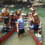 שייט קיאקים בנהר הירדן